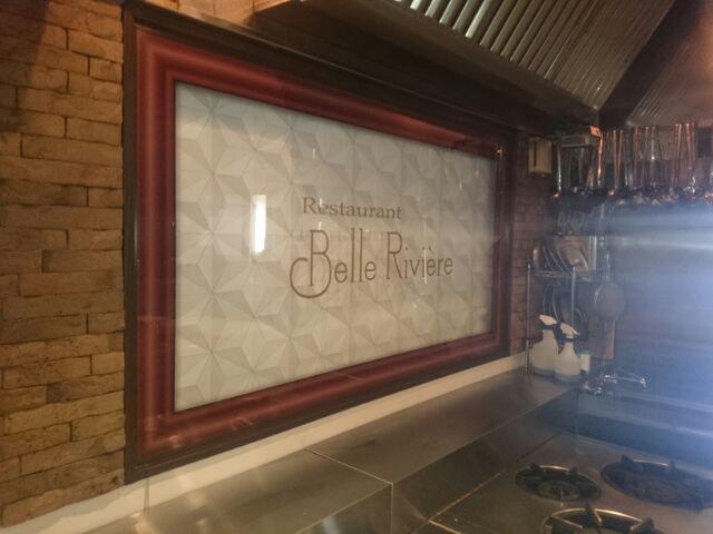 Belle Riviere様-店内サイン