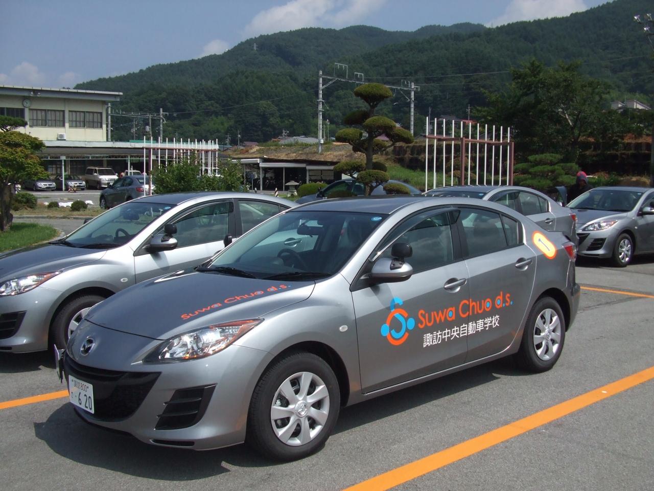 車両マーキング-諏訪中央自動車学校様