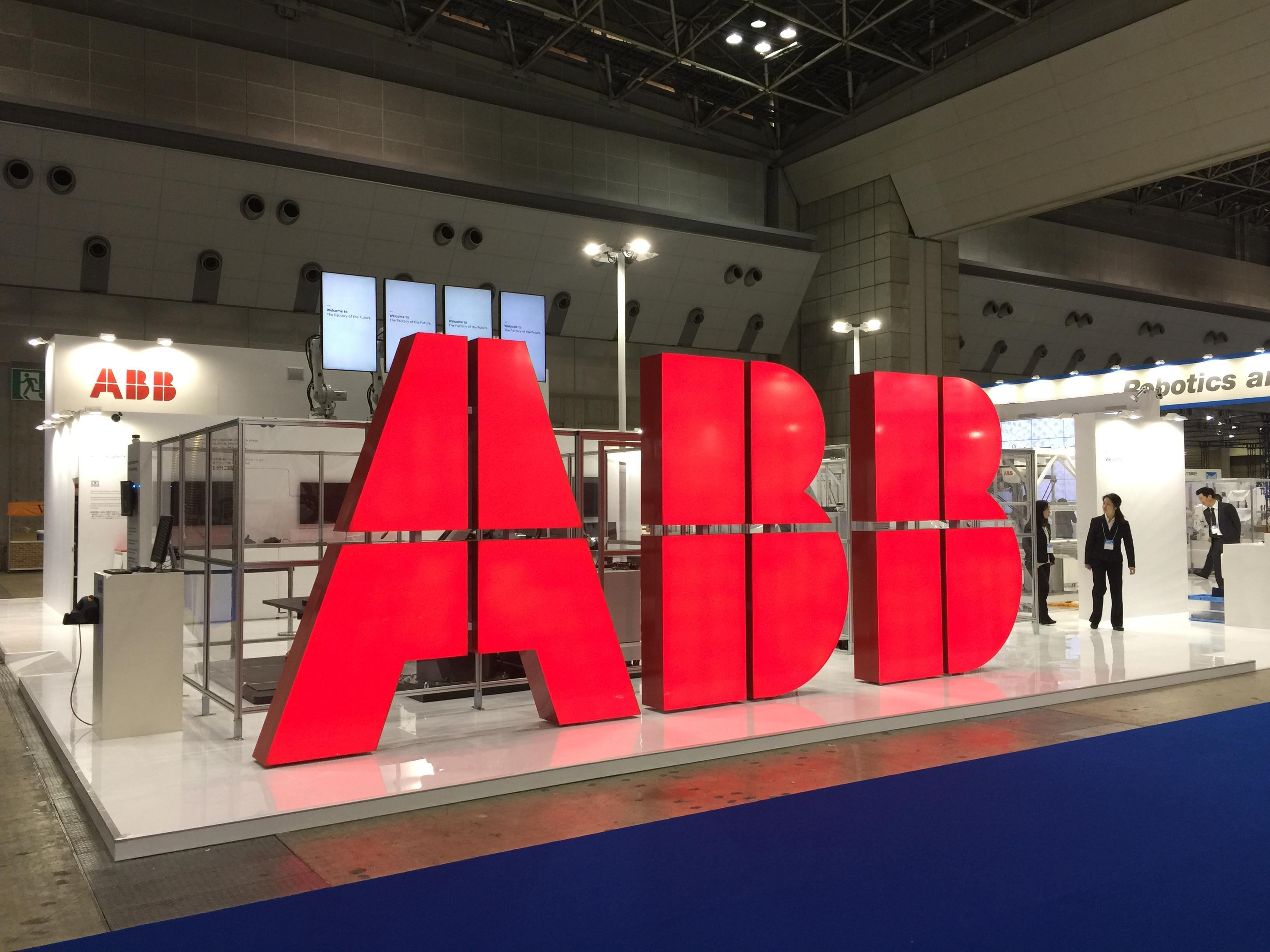 ABB様-展示会サイン