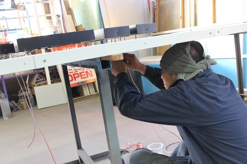 松本市看板製作 本日のアートプランニング