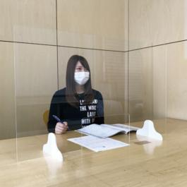 長野県 松本市 看板 サイン アクリルパーテーション